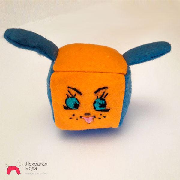 игрушка для собаки заяц с колокольчиком