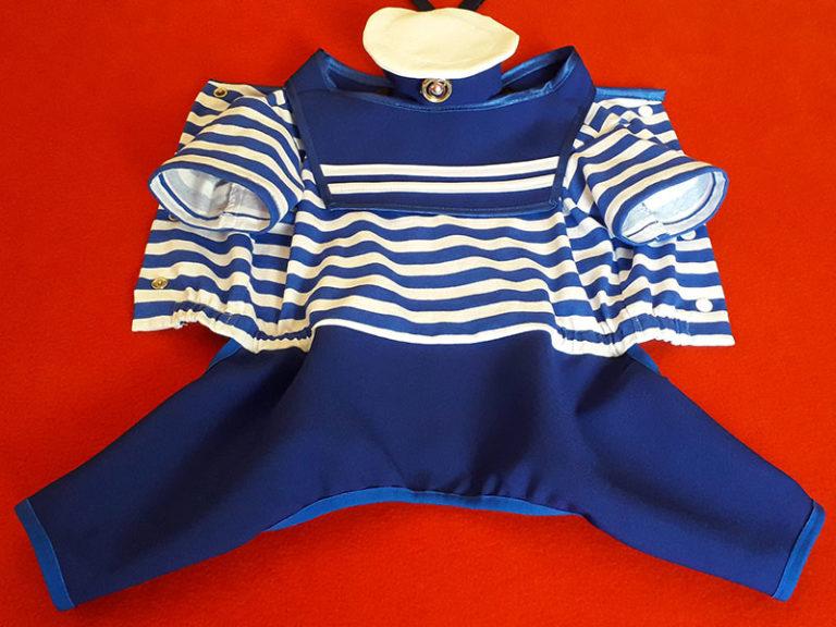 костюм морячка для собак маленьких пород