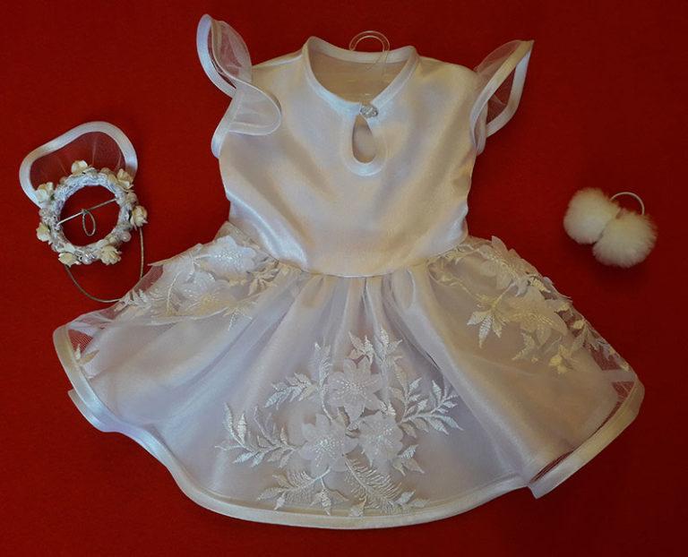 Платье невесты для собак маленьких пород