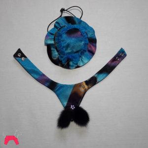 Праздничный костюм для собаки «Голубая мечта»