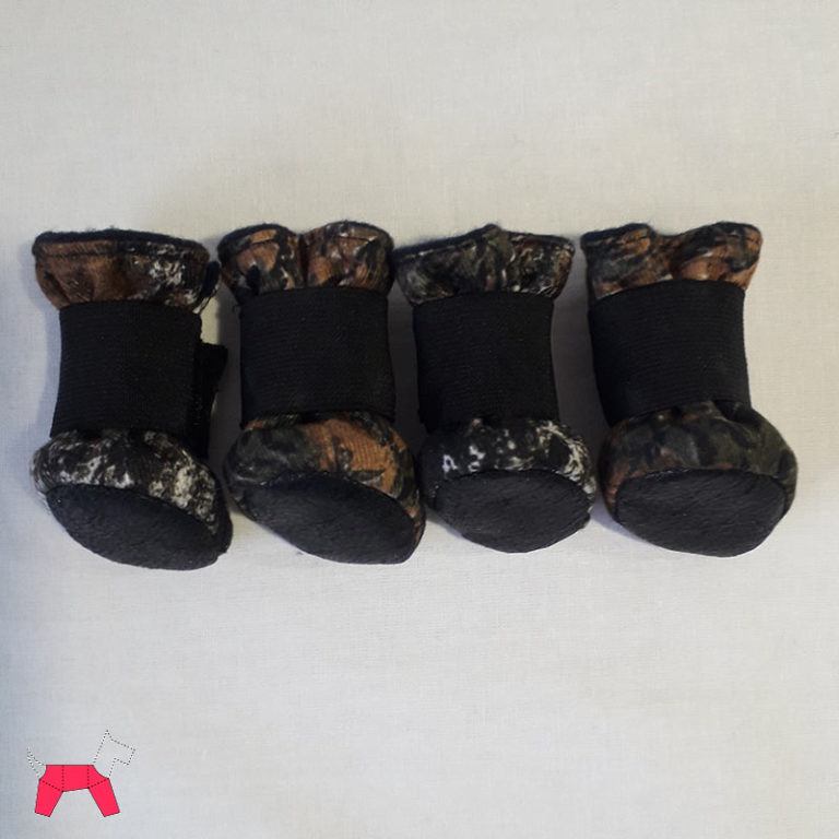 Сапожки для собаки из ткани Алова