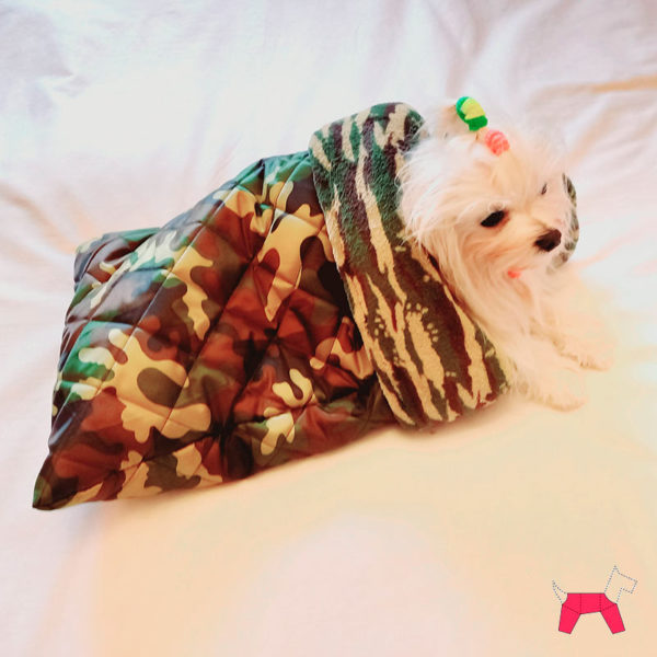 Конверт-переноска для собак защитный принт